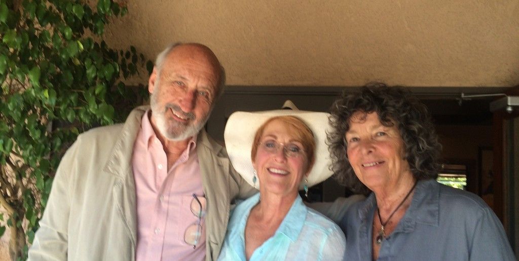 Amanda with Elizabeth and Noel Paul Stookey - London