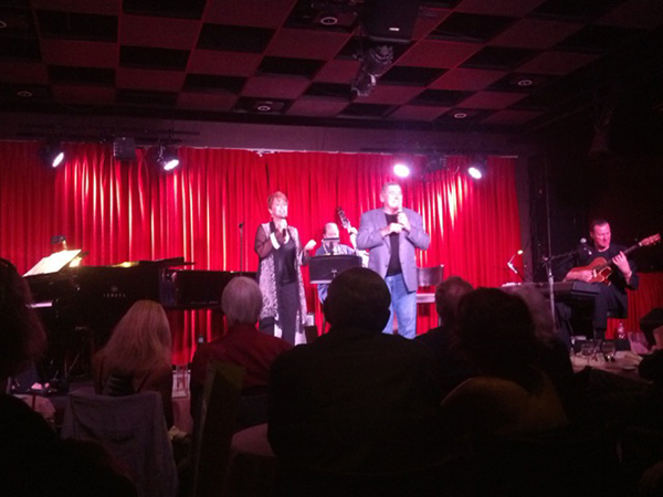 Amanda McBroom & George in LA at Catalina's