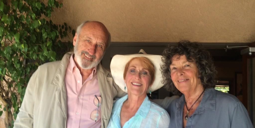 Amanda with Elizabeth and Noel Paul Stookey - London