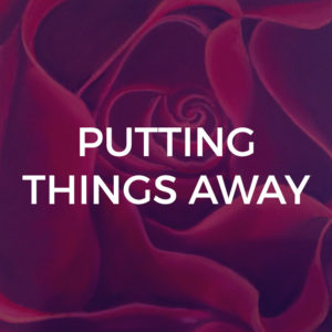 Putting Things Away - Piano / Vocal Arrangements